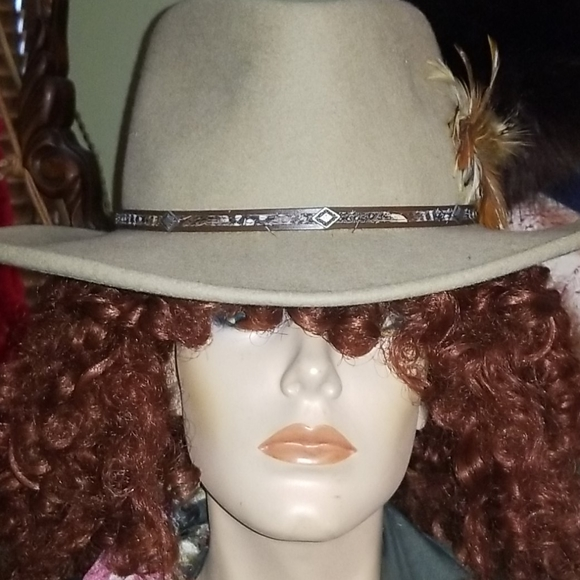 Stetson 100% wool crushable hat